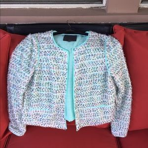 Marty M Open Face Boucle Jacket